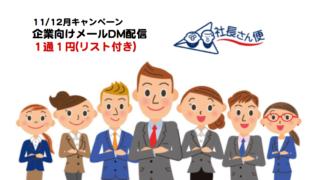 企業向けメールDM配信キャンペーン